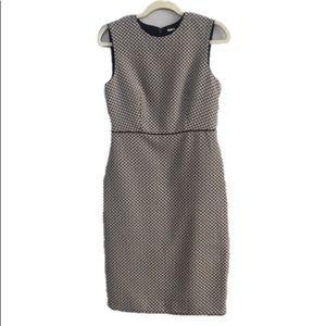 Ann Taylor Casual Sleeveless Sheath Midi Dress